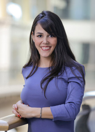 Courtney Dombek, Director of Marketing and Investor Relations